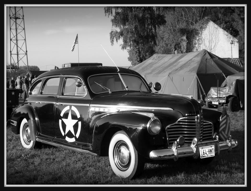 La Buick eight série 40 d' André