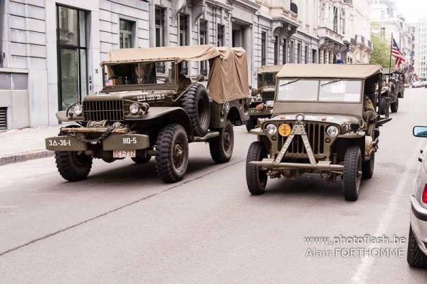 Cortège des véhicules
