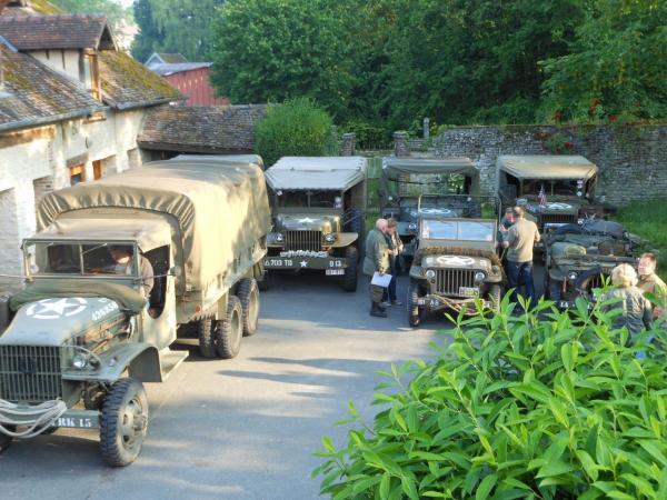 Arrêt pour nuitée à Chaumont en Vexin