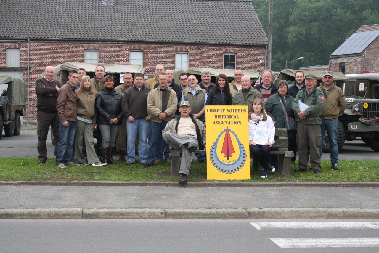 Départ de Belgique