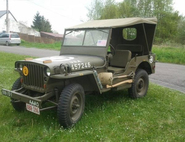 La jeep de Pascale
