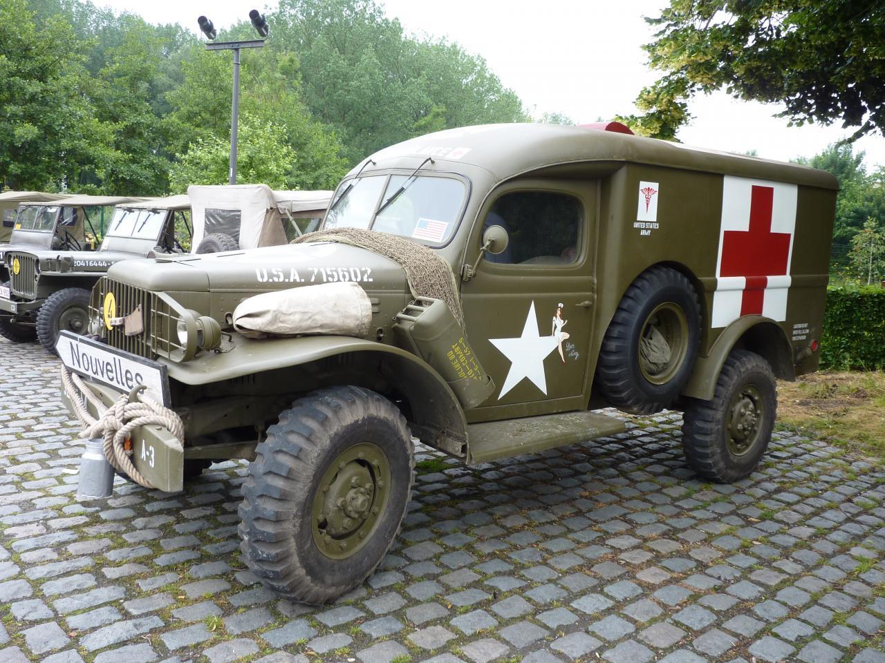 toujours l'ambulance de Jean-François