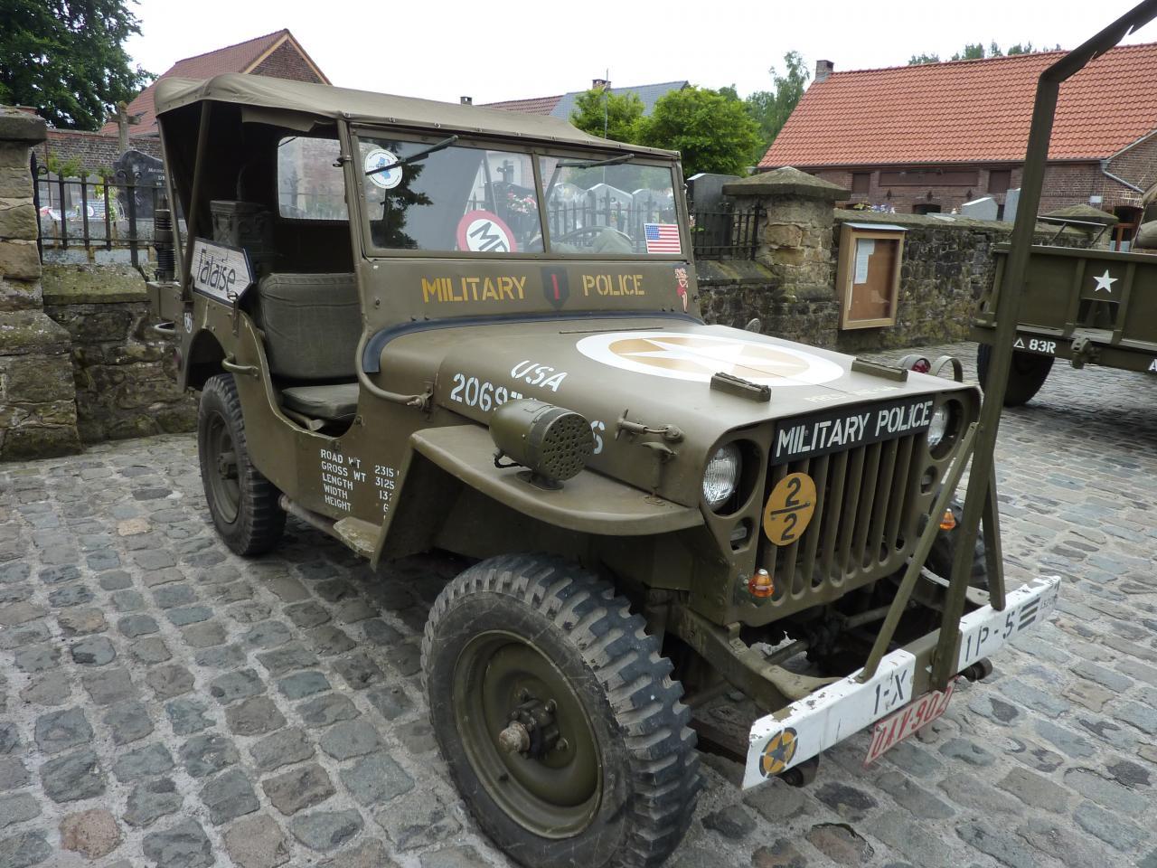 la jeep de Raymond