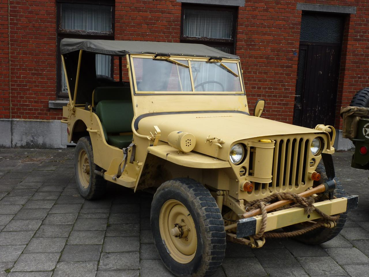 la jeep de David