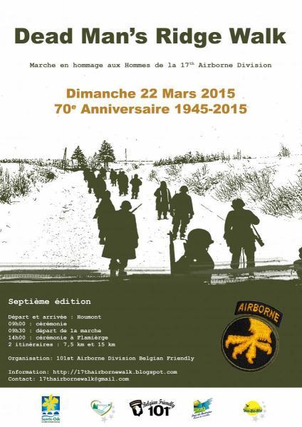 1 affiche dead man s ridge walk 2015 22 mars